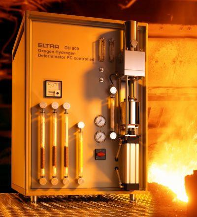 Analizadores de nitrogeno carbono azufre oxigeno e for Analizador de oxigeno